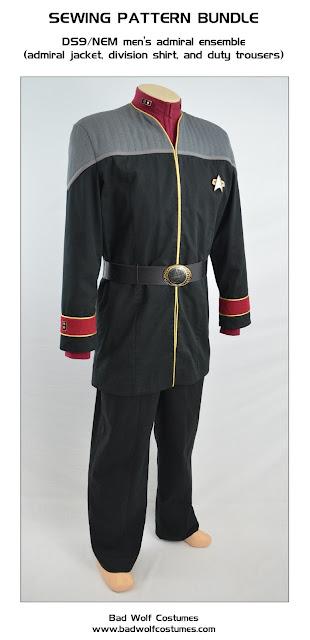 Bad Wolf Costumes - STAR TREK sewing patterns! - STAR TREK