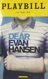 Playbill Dear Evan Hansen