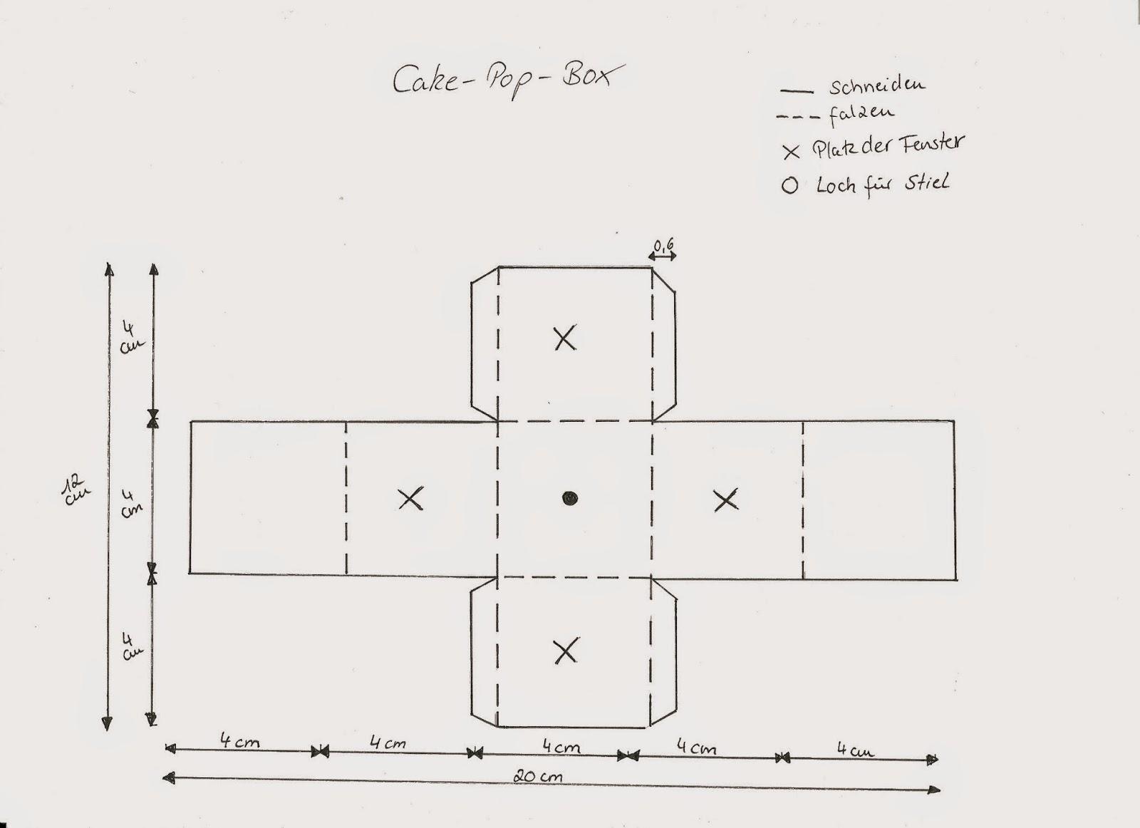 Stempeleinmaleins: Cake-Pop-Box