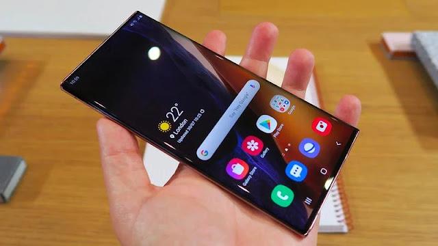 8. Samsung Galaxy Note 20 Ultra