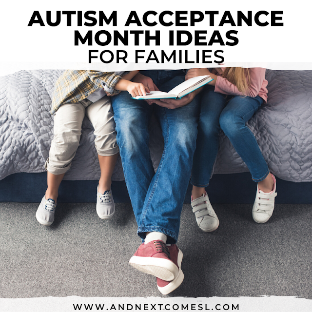 Autism acceptance month ideas and resources