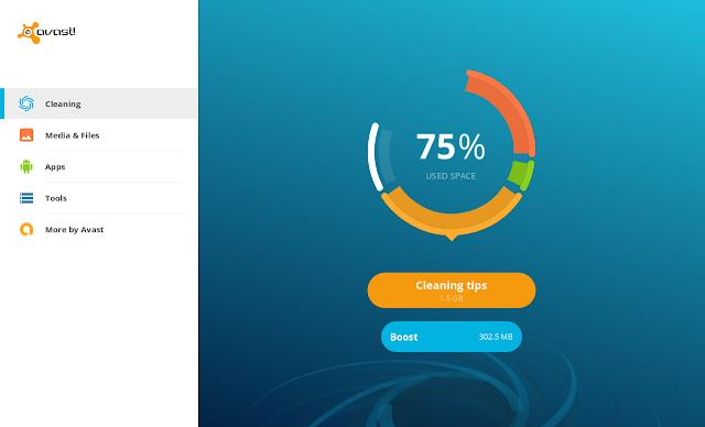 Versi Terbaru Avast Clean Up, bersihkan file tak penting
