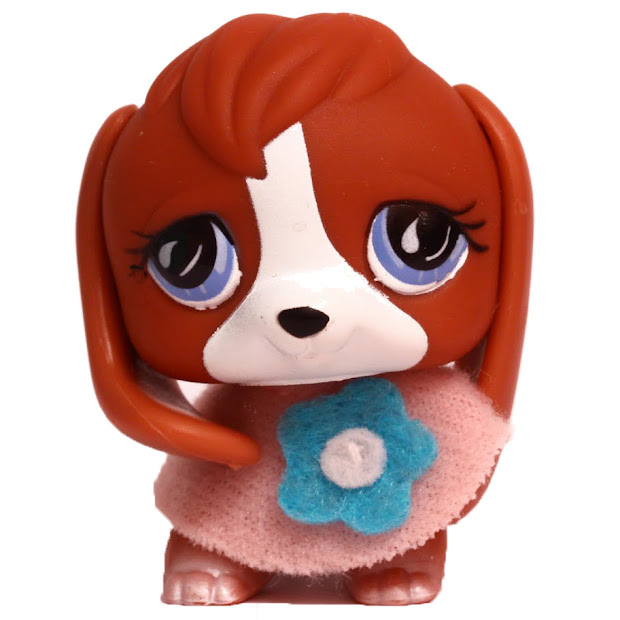 Littlest Pet Shop Brown Beagle Year Of Clean Water