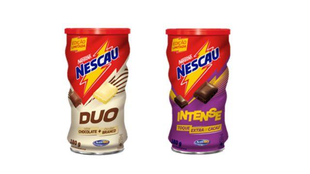 COMER & BEBER: NESCAU lança duas novidades na categoria de achocolatado em pó: NESCAU Duo e Intense