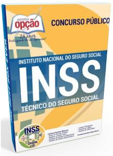 Apostila do concurso INSS 2018 Técnico do Seguro Social.