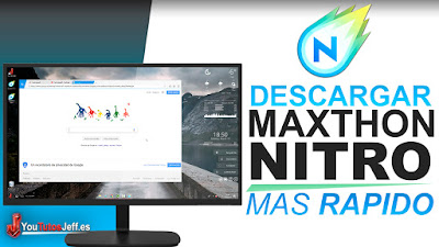 el navegador mas rápido, maxthon nitro, descargar maxthon nitro, navegadores, navegadores ligeros, tutorial