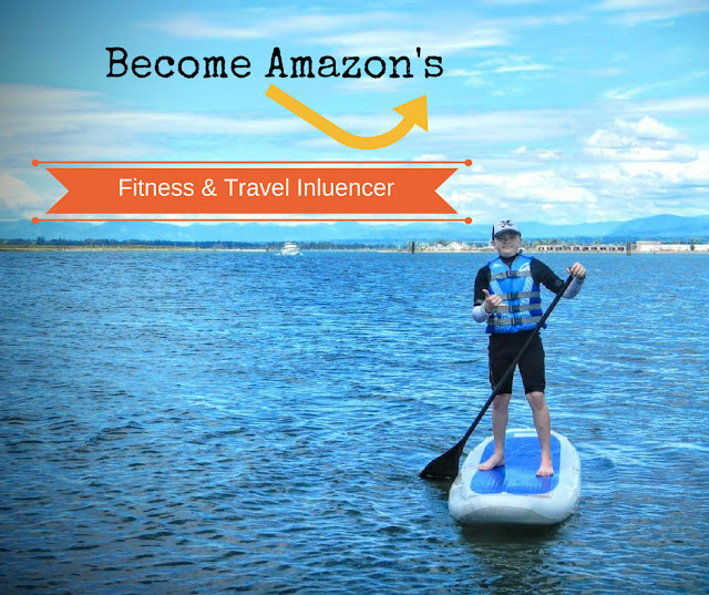 Become Amazon's Fitness & Travel Influencer