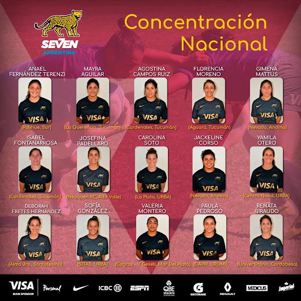 Concentración Nacional del Seleccionado Femenino de Rugby