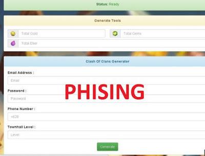 phising coc