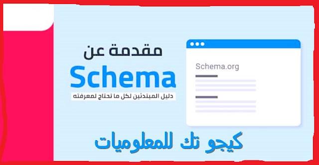مقدمة عن سكيما Schema دليل المبتدئين لكل ما تحتاج لمعرفته