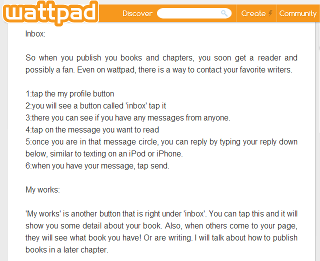 MY FAVORITE APPLICATION: Favorite App: WATTPAD