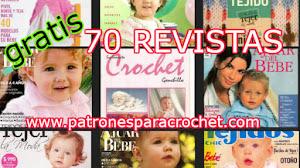 70 Revistas de Patrones de Tejido para Bebés