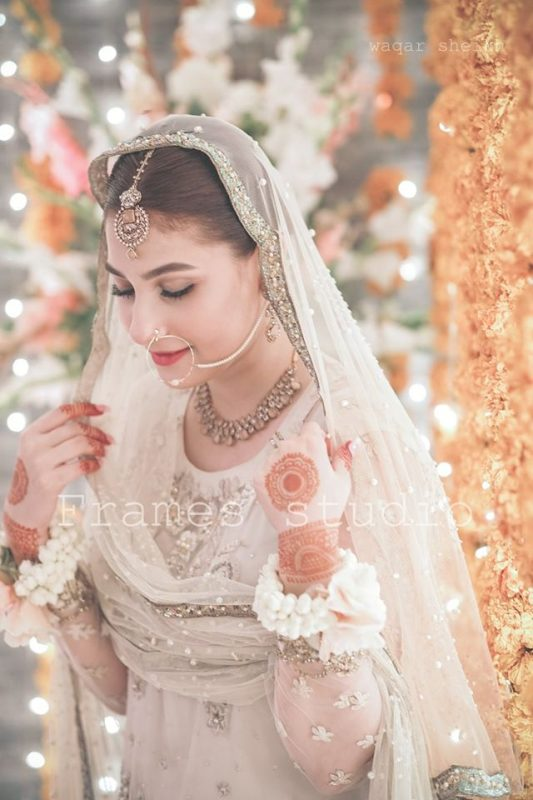 Aagha Ali and Hina Altaf HD Wedding Pictures