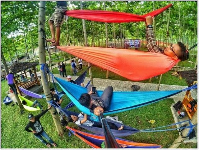 Bukit Hammock Dhoho Indah;10 Top Destinasi Wisata Kediri