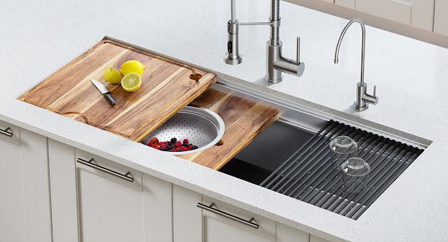Kraus kitchen sink