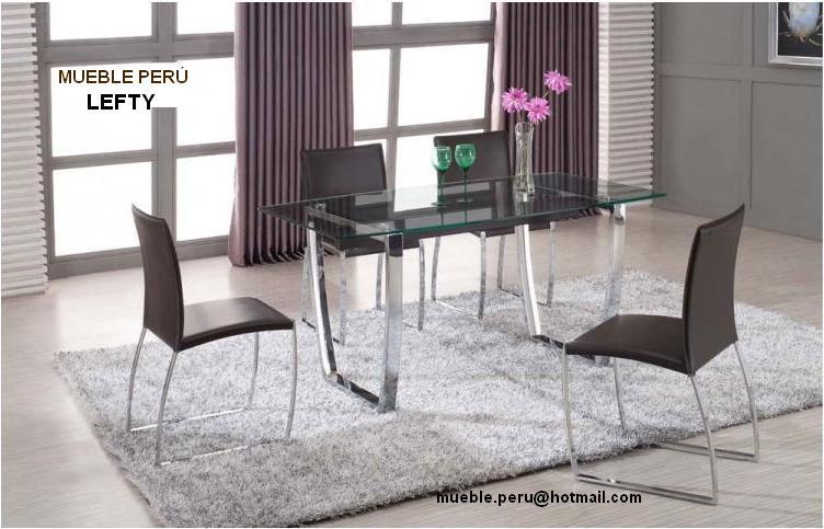 Mueble peru: modernos comedores de acero