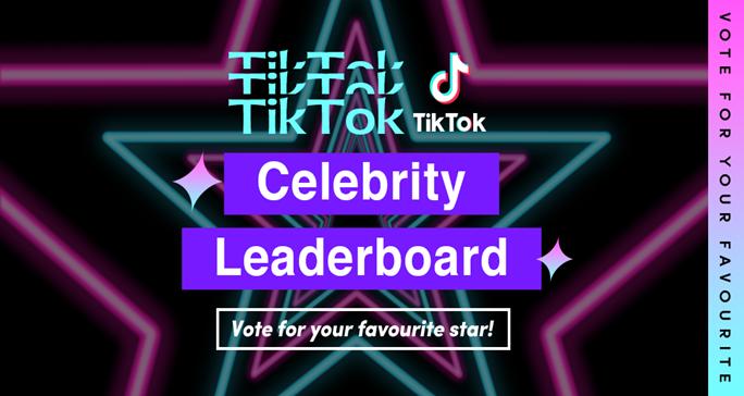 TikTok Product Update - Malaysia Celebrity Leaderboard