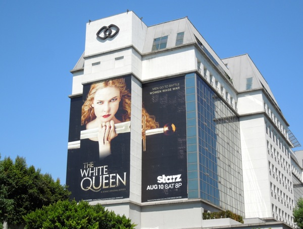 White Queen Starz billboard