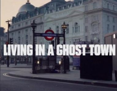 """The famous Coivid-19 Song: """"Living in a Ghost Town"""" , Rolling Stones Songs"""