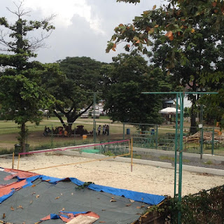 SVD Beach Volleyball court at Plaza Independencia in Cebu City, Philippines