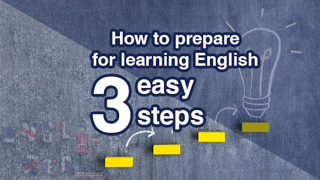How to prepare for learning English in 3 easy steps