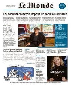 Le Monde Magazine 2 December 2020 | Le Monde News | Free PDF Download