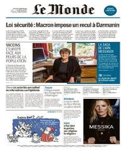 Le Monde Magazine 2 December 2020 | Le Monde News | Free PDF Download