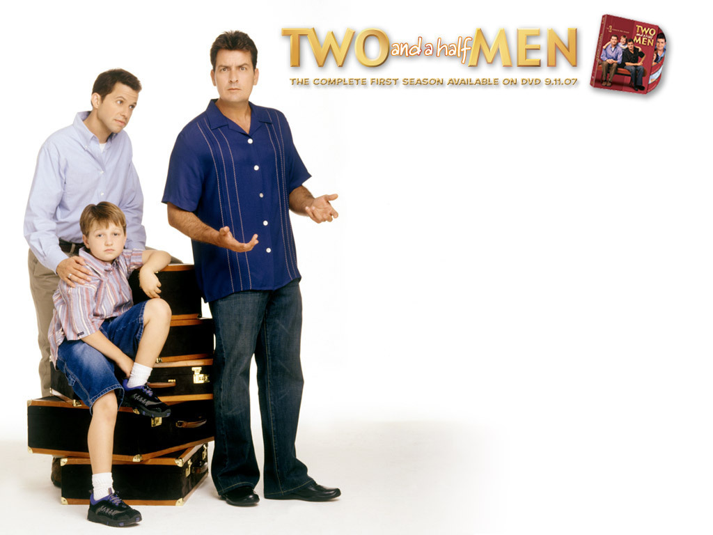 Picturesandphotos Two And Half Men Wallpaper