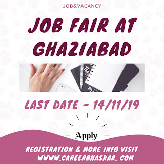 Job Fair in Ghaziabad, Ghaziabad Job FAir, Job Ghaziabad
