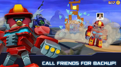 Angry Birds Transformers MOD APK Unlimited Coins/Unlocked