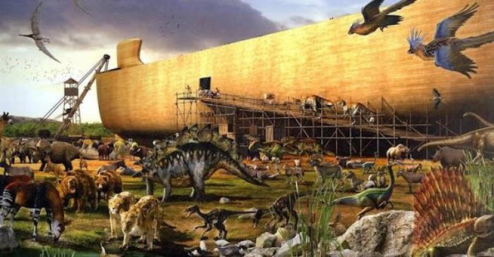 Benarkah Kapal Nabi Nuh Terbuat dari Baja dan Bertenaga Nuklir? Peneliti Turki Ini Ungkap....