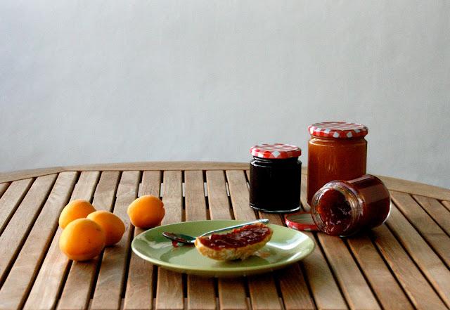 Melmelada casolana de prunes i d'albercocs