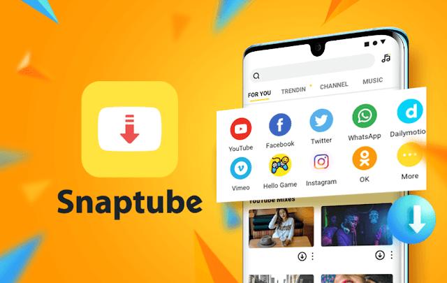 تحميل تطبيق سناب تيوب الأصفر snaptube اخر اصدار للاندرويد مجانا