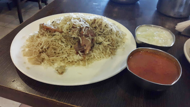 Mutton Biriyani at Imperial