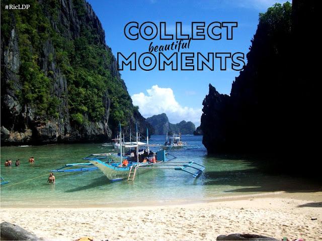 Collect beautiful moments Palawan
