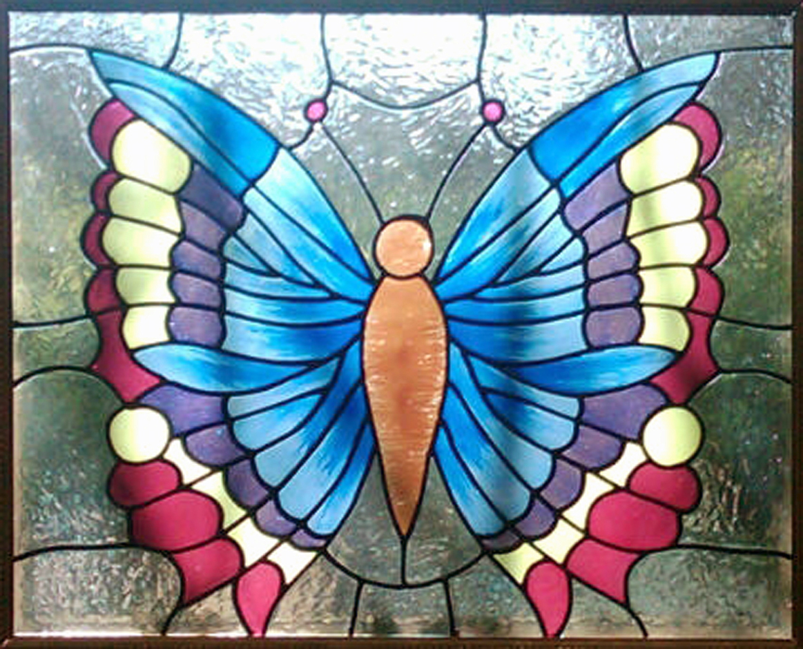 Butterfly designs for glass painting - photo#38