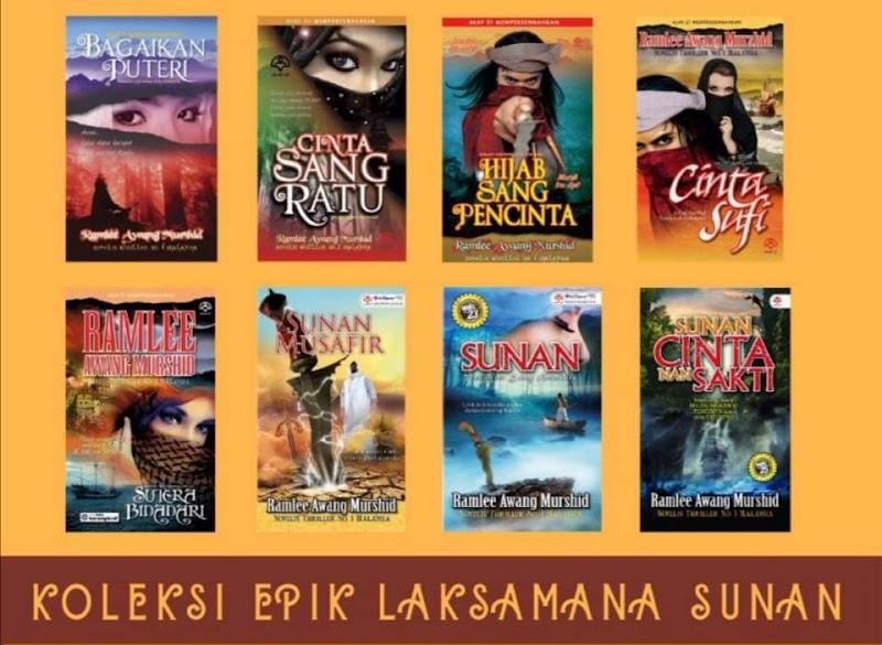 Tambah Lagi Koleksi Epik Laksamana Sunan | Novel Saifudin Jalis Kini Dalam Genggaman