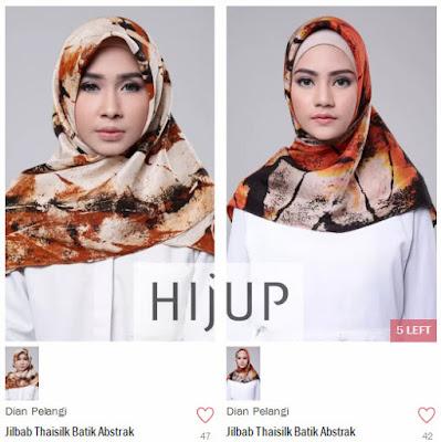 Mencari Hijab Kekinian di Hijup.com