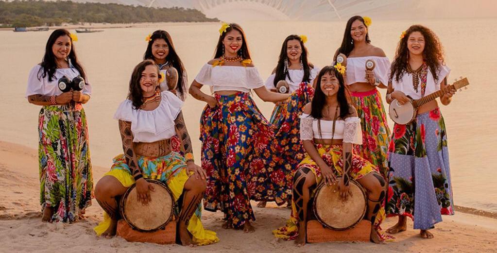 Grupo de indígenas de Alter do Chão lança hoje primeiro videoclipe; saiba onde assistir