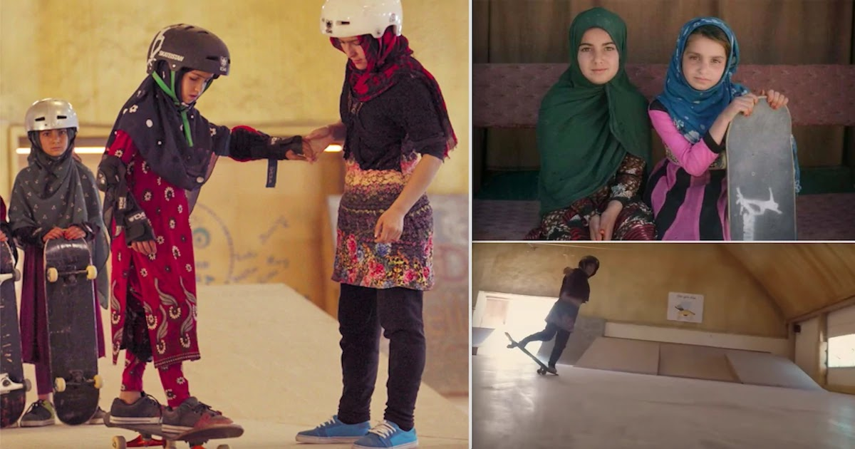 Skate-Boarding Girls In Afghanistan Documentary Wins Oscar