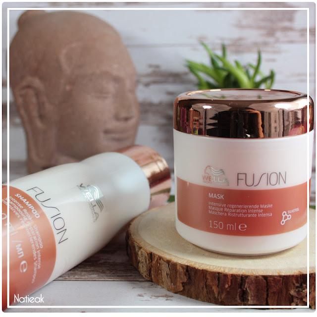 Le shampoing et masque réparation intense Fusion   de Wella professionals