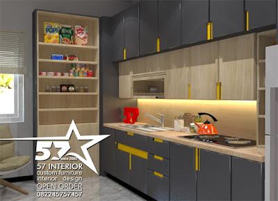 jasa pembuatan kitchen set murah kediri