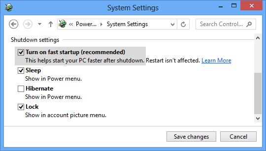 Mengatasi Masalah Shutdown Pada Windows 8