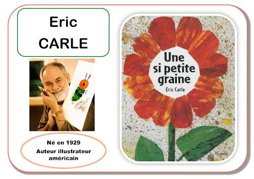 Eric Carle - Portrait d'artiste en maternelle