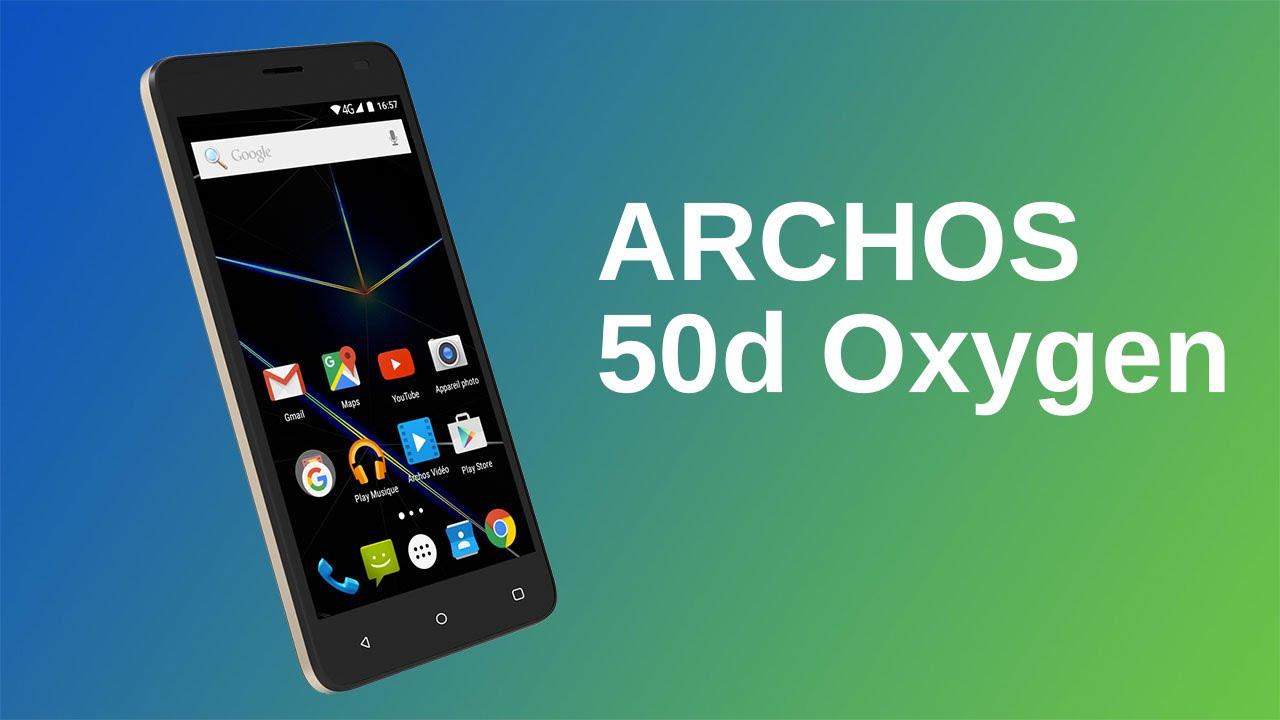 Archos Firmware: Archos 50D Oxygen Firmware