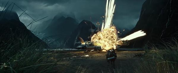 Cena - explosão da nave de exploração | Blog #tas