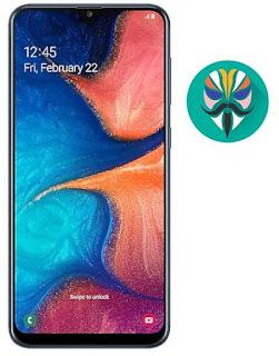 طريقة عمل روت لجهاز Galaxy A20s SM-A207F اصدار 9.0