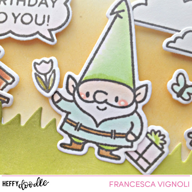 An Happy BDay gift tag with Franci – Heffy Doodle