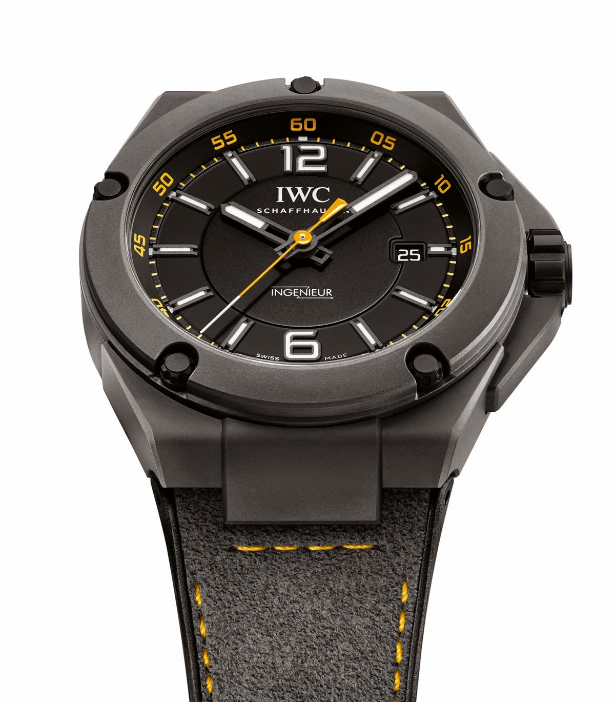 iwc ingenieur automatic edition amg gt time and watches. Black Bedroom Furniture Sets. Home Design Ideas