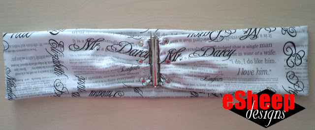 Pride & Prejudice belt crafted by eSheep Designs